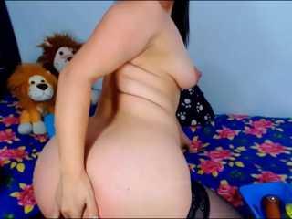 Hermosa webcamer lo pasa bien en Webcam