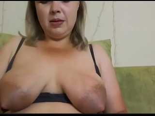 Señora hace un casting guarro en Webcam
